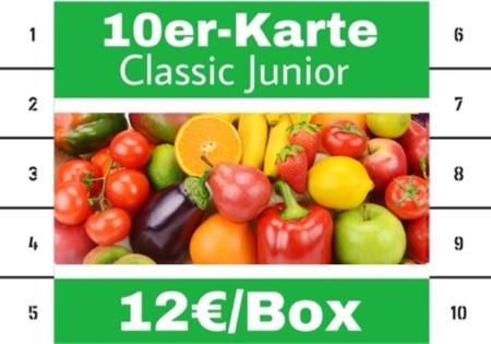 10er KARTE- FLB CLASSIC JUNIOR